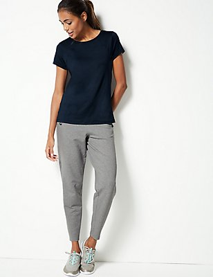 Cotton Rich Joggers, GREY MARL, catlanding