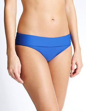 Hipster Bikini Bottoms, BRIGHT BLUE, catlanding
