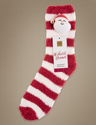 Носки Santa 3D M&S Collection T600601