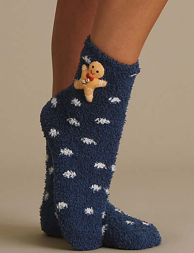 Image result for m and s gingerbread socks