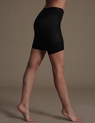 Magicwear™ Bum & Tum Bodyshaper Shorts 1 Pair Pack, BLACK, catlanding