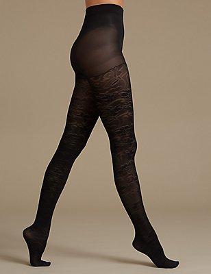 Secret Slimming™ Body Shaper Tights, BLACK, catlanding