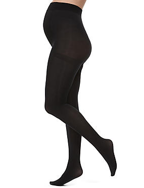 60 Denier Opaque Maternity Tights 1 Pair Pack