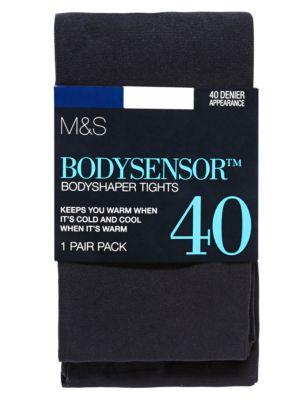 Корректирующие непрозрачные колготки 40 ден с технологией Body Sensor™ M&S Collection T602173B