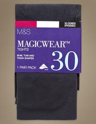 Непрозрачные колготки 30 ден с технологиями Body Sensor™ и Magicwear™