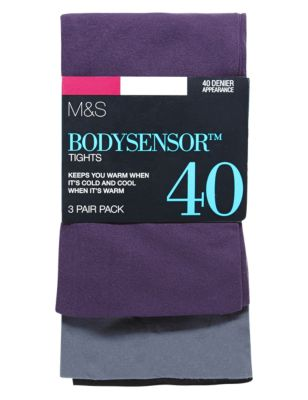 ������������ �������� Body Sensor� 40 ��� (3 ����) M&S Collection T602208