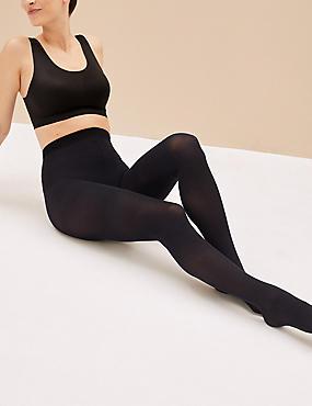 Lot de 3paires de collants opaques 40deniers, dotés de la technologie Body Sensor™, BLEU MARINE, catlanding