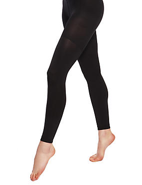 100 Denier Body Sensor™ Opaque Footless Tights