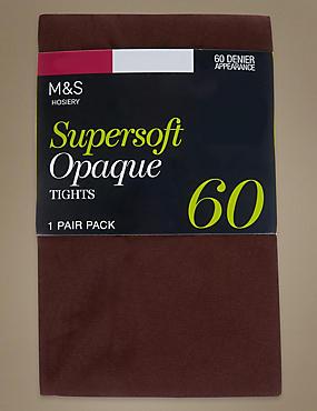 Collants opaques ultra-doux 60deniers , ACAJOU, catlanding