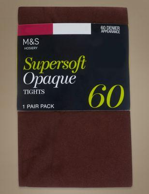 Колготки непрозрачные SUPERSOFT 60 Den в ассортименте M&S Collection T602264