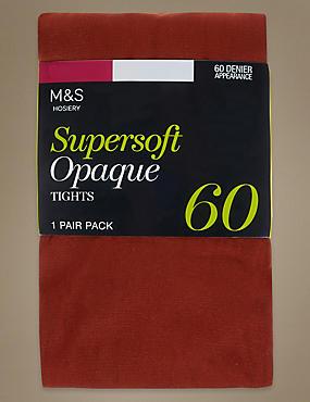 Collants opaques ultra-doux 60deniers , ROUILLE, catlanding