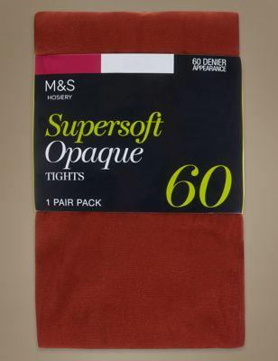 Колготки непрозрачные SUPERSOFT 60 Den в ассортименте