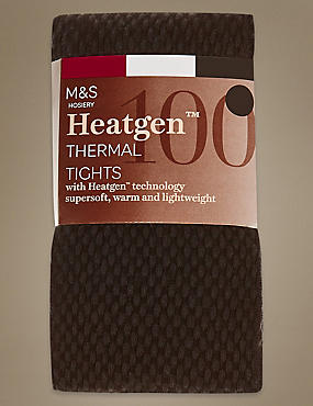 Heatgen™– Collants opaques 100deniers, NOIRC, catlanding