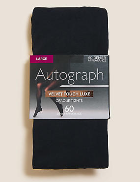 60 Denier Velvet Touch Opaque Tights, NAVY, catlanding