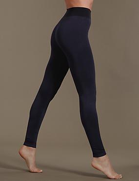 Santoni Leggings with Secret Slimming™, NAVY, catlanding