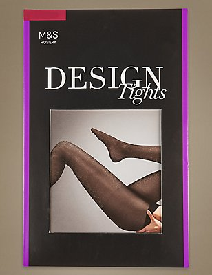 Lurex Party Tights, GOLD, catlanding