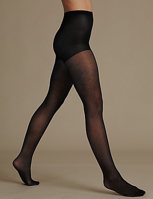 Secret Slimming™ Party Tights, BLACK, catlanding
