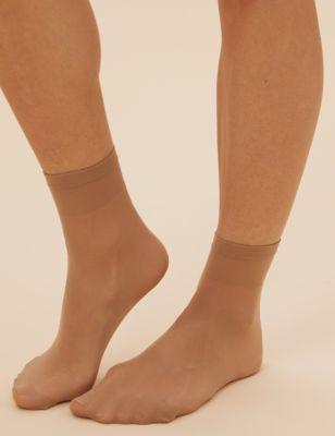 5 пар повседневных матовых носков 15 ден