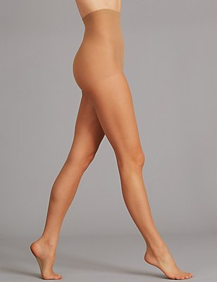 5 Denier Bare Invisibles Tights, NATURAL TAN, catlanding