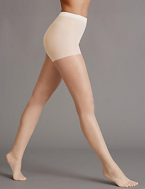 5 Denier Cool Comfort™ Bare Invisible Tights , PORCELAIN, catlanding