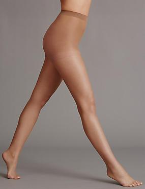 5 Denier Cool Comfort™ Bare Invisible Tights , SUNTAN, catlanding