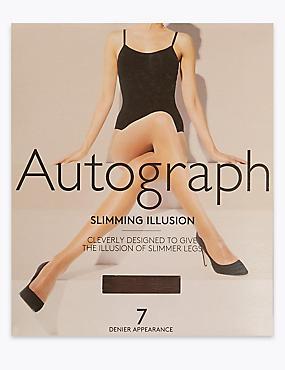 Medias transparentes Cool Comfort™ de 7deniers que hacen las piernas más largas , CHOCOLATE, catlanding