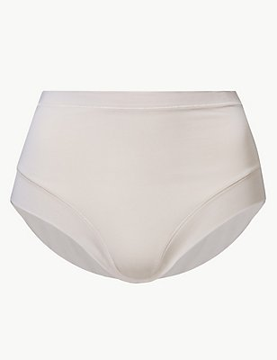 Modal Rich Flexifit Full Briefs, ALMOND, catlanding