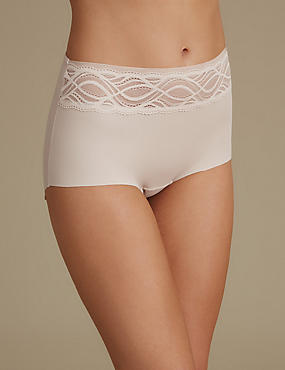 No VPL Curve Smooth Lines Full Brief, ALMOND, catlanding