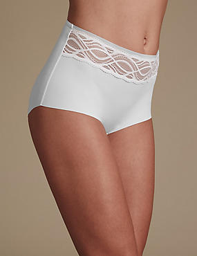 No VPL Curve Smooth Lines Full Brief, WHITE, catlanding