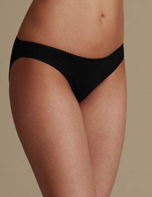 Трусики-бикини из хлопка (5 шт. в упаковке) от Marks & Spencer