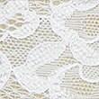 Floral Lace Thong, WHITE, swatch
