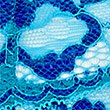 Floral Lace Bikini Knickers, BLUE, swatch