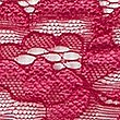 Floral Lace Bikini Knickers, DARK CRANBERRY, swatch