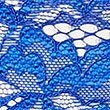 No VPL Floral Lace Thong, COBALT, swatch