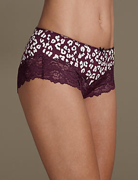 Isabella Grown on Printed Midi Knickers