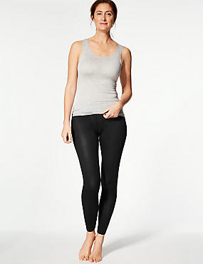 Heatgen™ Thermal Leggings, BLACK, catlanding