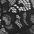 Fishnet Isabella Lace Brazilian Knickers, BLACK, swatch