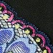 Floral Print No VPL Brazilian Knickers, BLACK MIX, swatch
