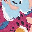 Floral Print Bikini Knickers, MAGENTA MIX, swatch