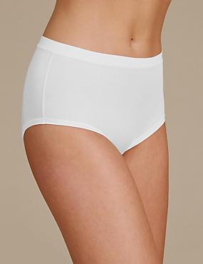 Hoch geschnittene Flexifit-Shorts mit hohem Modalanteil, WEISS, catlanding