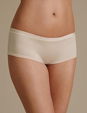 Ultimate Comfort Flexifit Low Rise Shorts, ALMOND, catlanding