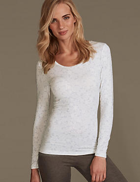 Heatgen™ Thermal Sparkle Snowflake Top