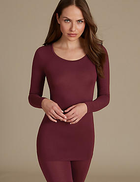 Heatgen™ Thermal Longline Top, WINE, catlanding