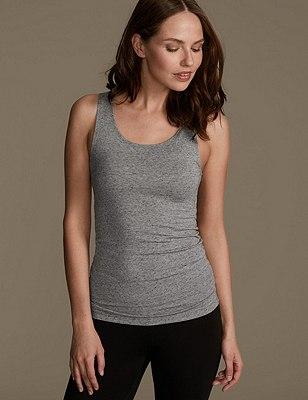 Heatgen™ Thermal Built Up Shoulder Vest, GREY, catlanding