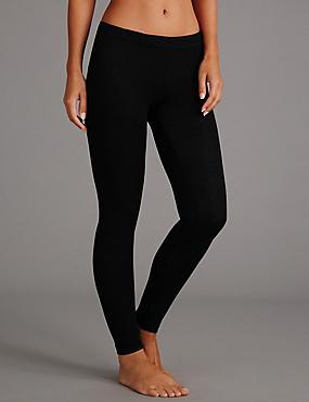 Heatgen™ Thermal Leggings with Cashmere, BLACK, catlanding