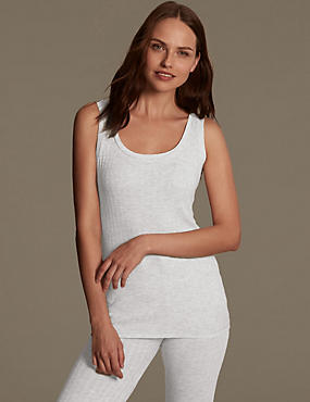 Ribbed Thermal Vest