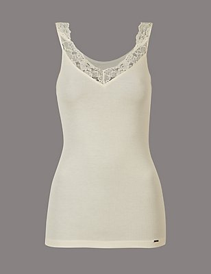 Thermal Vest with Silk, LIGHT CREAM, catlanding