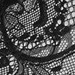 Body transparent en dentelle et soie, NOIR, swatch