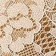Silk & Lace Padded Balcony Bra  A-E, GOLD, swatch