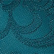 Embroidered Padded Plunge Bra A-E, TEAL, swatch